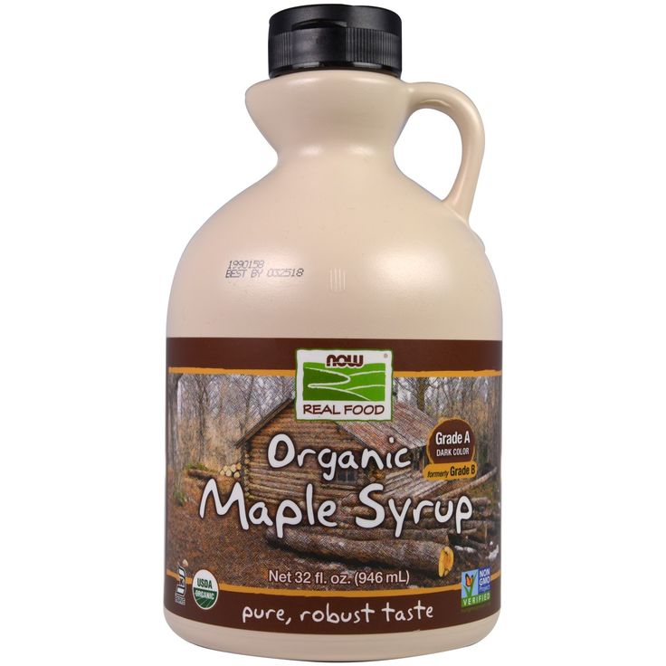 Now Foods, Real Food, Organic Maple Syrup, Grade A Dark Color, 32 fl oz (946 ml)
