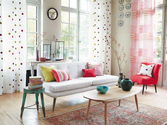 1000 images about cortinas modernas para sala on for Cortinas modernas estampadas