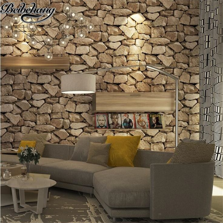 Beibehang Upscale Retro Personality Stone Pattern Marble Culture Stone Wallpaper  Living Room Bar Coffee Shop Brick Part 76