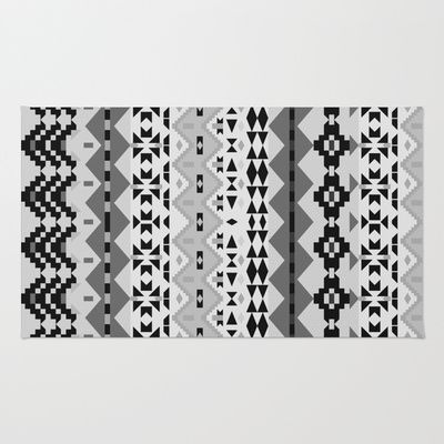 black and white aztec rug aztec products and rugs