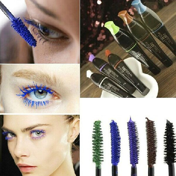 Mascara  Newest Waterproof Blue Purple Black Brown Mascara Long Fiber Curl Eyelash Extension Free Shipping * AliExpress Affiliate's Pin. Detailed information can be found by clicking on the VISIT button