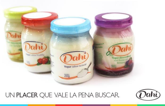 ¡Empezá la semana con el Verdadero Yogur! #Dahi #ElVerdaderoYogur