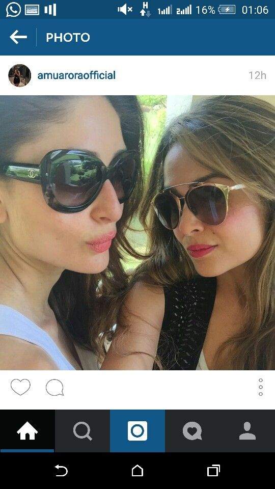 Kareena and Amrita