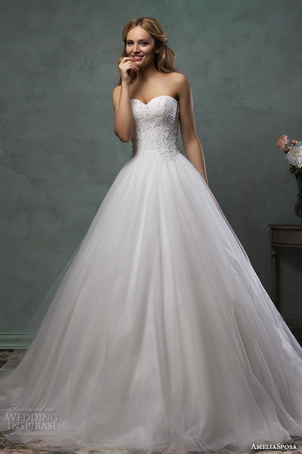 2016 wedding dresses wedding dresses a line strapless wedding dress