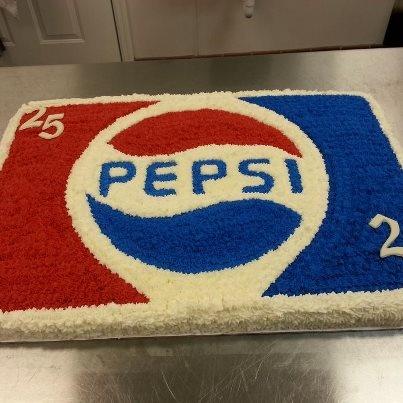 Pepsi cake, I ❤️ me some Pepsi!