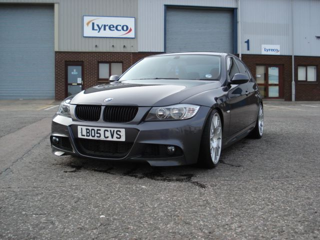 Fitting An Lci M Sport Front Bumper On Pre Lci With Images Bmw