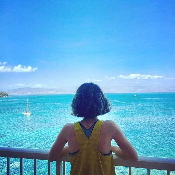 Lost at sea... . . . #globetrotter #worldtraveller #travel #vacation #summerhair #summertime #summervacay #corfu #islandlife #greece #kerkyra #seaside