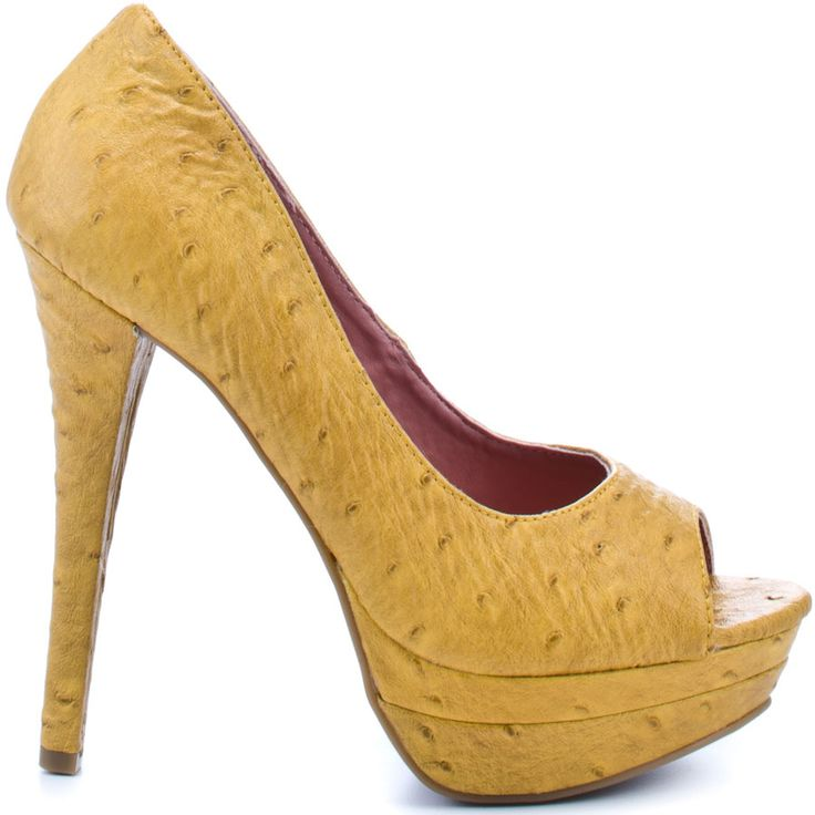 Heels I Love #heels #fall #high_heels #color #love #shoes Elise Pump - Mustard  JustFab: Pumps Heels, Shoes Elie, Fall Colors, Elie Pumps, Heels Justfab, Elis Pumps, Woman Shoes, Mustard Justfab, High Heels Colors
