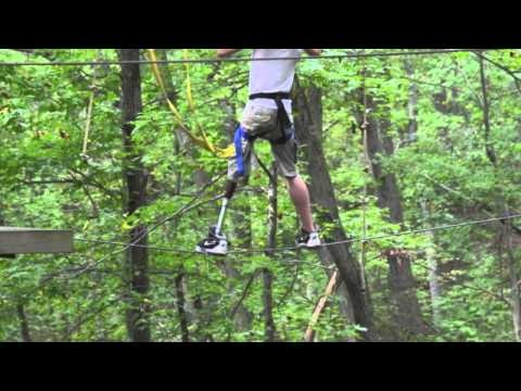 Inspirational video from Camp No Limits in Maryland, featuring Next Step's Jerry Scandiffio and his client Shaun