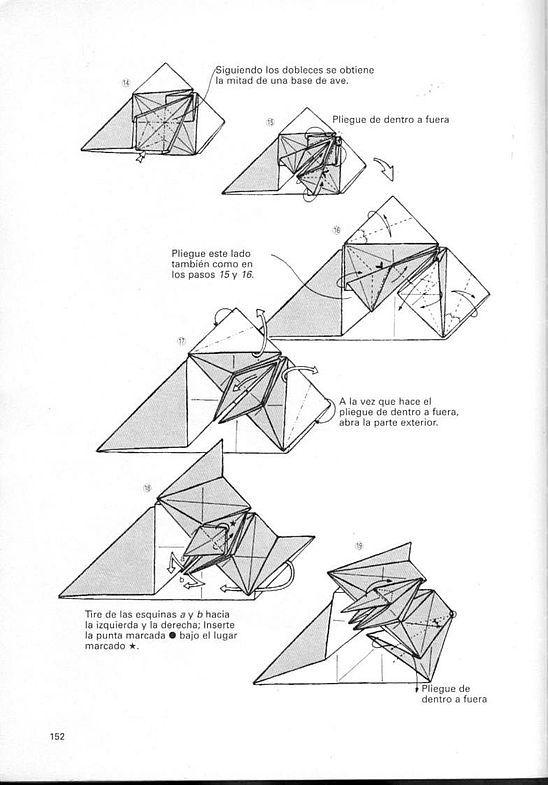 kunihiko kasahara y Toshie Takahama (Papiroflexia) - Origami para expertos 151_page151