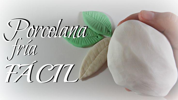 Cómo hacer porcelana fría FÁCIL Y ECONÓMICA | Mundo@Party