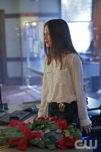 """Beauty and the Beast -- """"Trust No One"""" -- Pictured: Kristin Kreuk as Catherine Chandler -- Image Number: BB112a_0121.jpg -- Photo: Sven W. Frenzel/The CW -- © 2013 The CW Network, LLC. All rights reserved."""