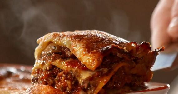 Tom Kerridge lasagne recipe on Tom Kerridge's Best Ever Dishes (just use less sugar!)