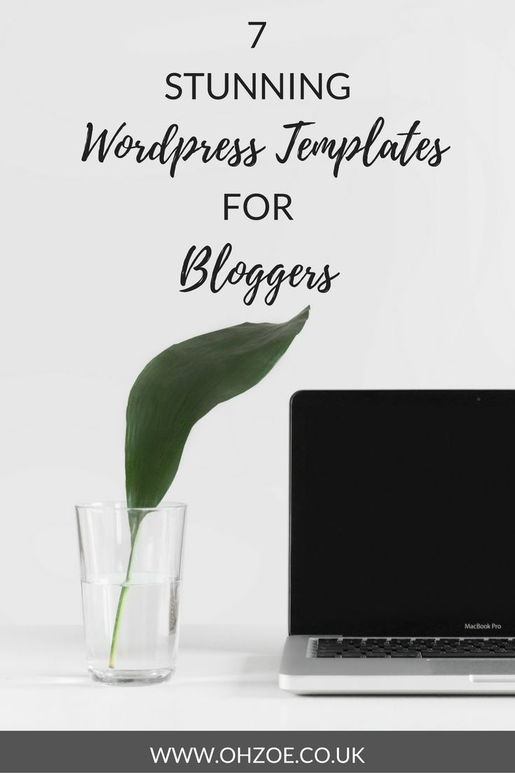 The best wordpress blog templates