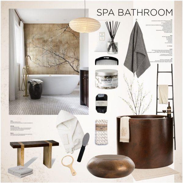 Spa - like bathroom theme