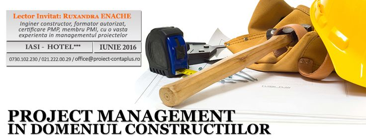 Curs  - Project Management in Domeniul Constructiilor