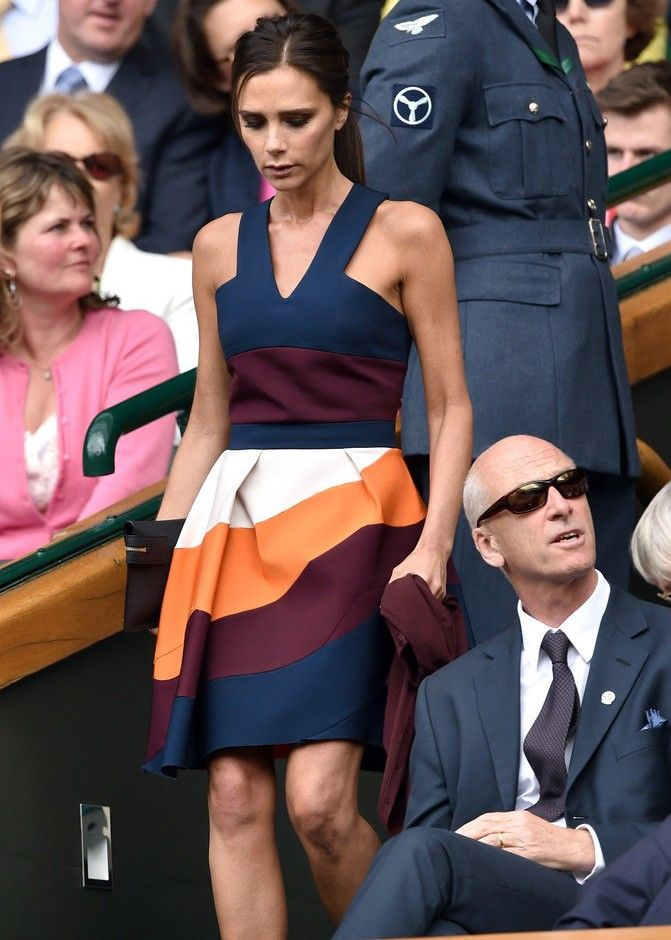 Pin for Later: 35 Fashion Truths Straight From Victoria Beckham It's always better to be overdressed than underdressed. David E Victoria Beckham, Victoria Beckham Style, Victoria Beckham Dresses, Victoria Beckham Fashion, Victoria Beckham Collection, Victoria Dress, Vic Beckham, Fashion Mode, Womens Fashion