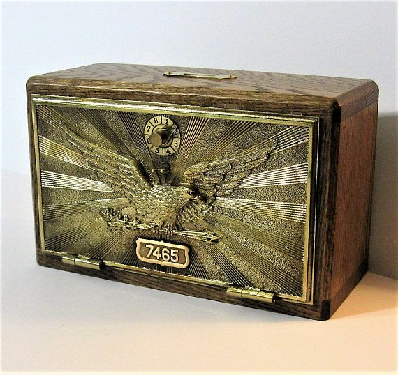Post Office Box 1906 Large Door Bank / Safe Large
