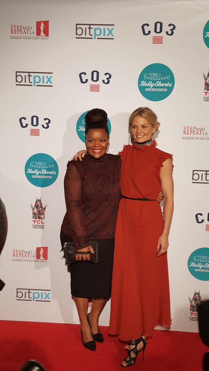 Jennifer Morrison and Yvette Nicole Brown | HollyShorts Film Festival 2016 - 11th August 2016