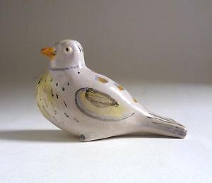 Istvan-GADOR-Hungary-Art-Pottery-BIRD-SCULPTURE-c-1930-039-s-Ceramic-Figure