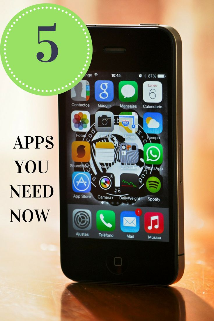 My top 5 favorite apps that help me save time and money and keep organized.