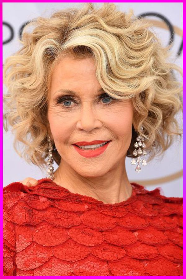 The Best Short Curly Hairstyles for Older Womens Over 50 ...