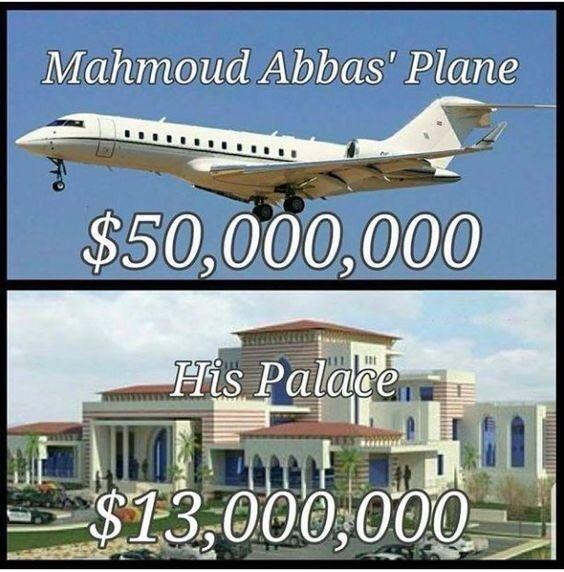 """El """"oprimido"""" Abbas compra un Jet mediante un paraíso fiscal. ElAvión a reacción personal de Abbas comprado a través de una compañía de Aruba, un paraíso fiscal. La transacción de comp…"""