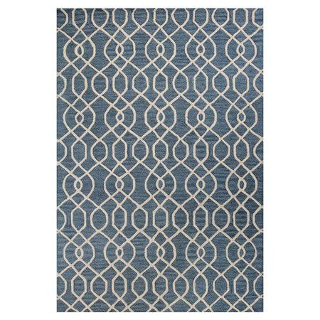 Featuring an intricate scrolling motif and hand-tufted craftsmanship, this chic wool rug lends a stylish touch to your living room or den. Pair it with patte...