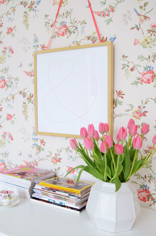 Cath Kidston wall paper <3  yvestown.com