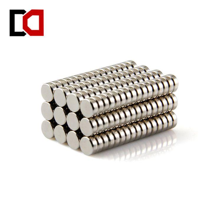 Il trasporto libero 100 pz disco 5x2mm n50 terra rara permanente di forte magnete al neodimio bulk magneti Al Neodimio nichel