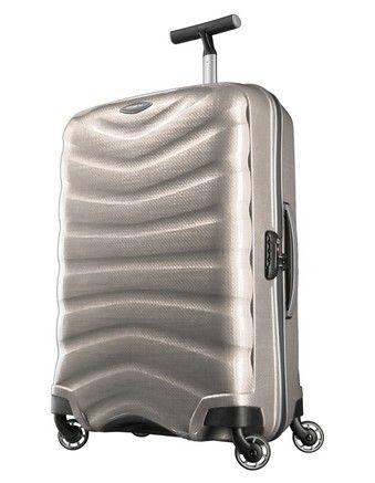 Samsonite - Firelite Spinner Suitcase White Large 81cm