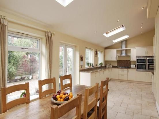 Kitchen Diner in rear extension