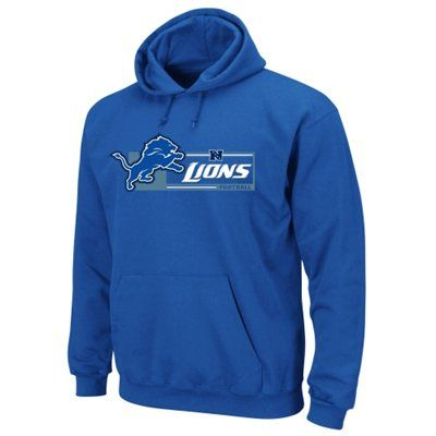 Mens Detroit Lions Majestic Light Blue Critical Victory VII Pullover Hoodie  ... db6752408