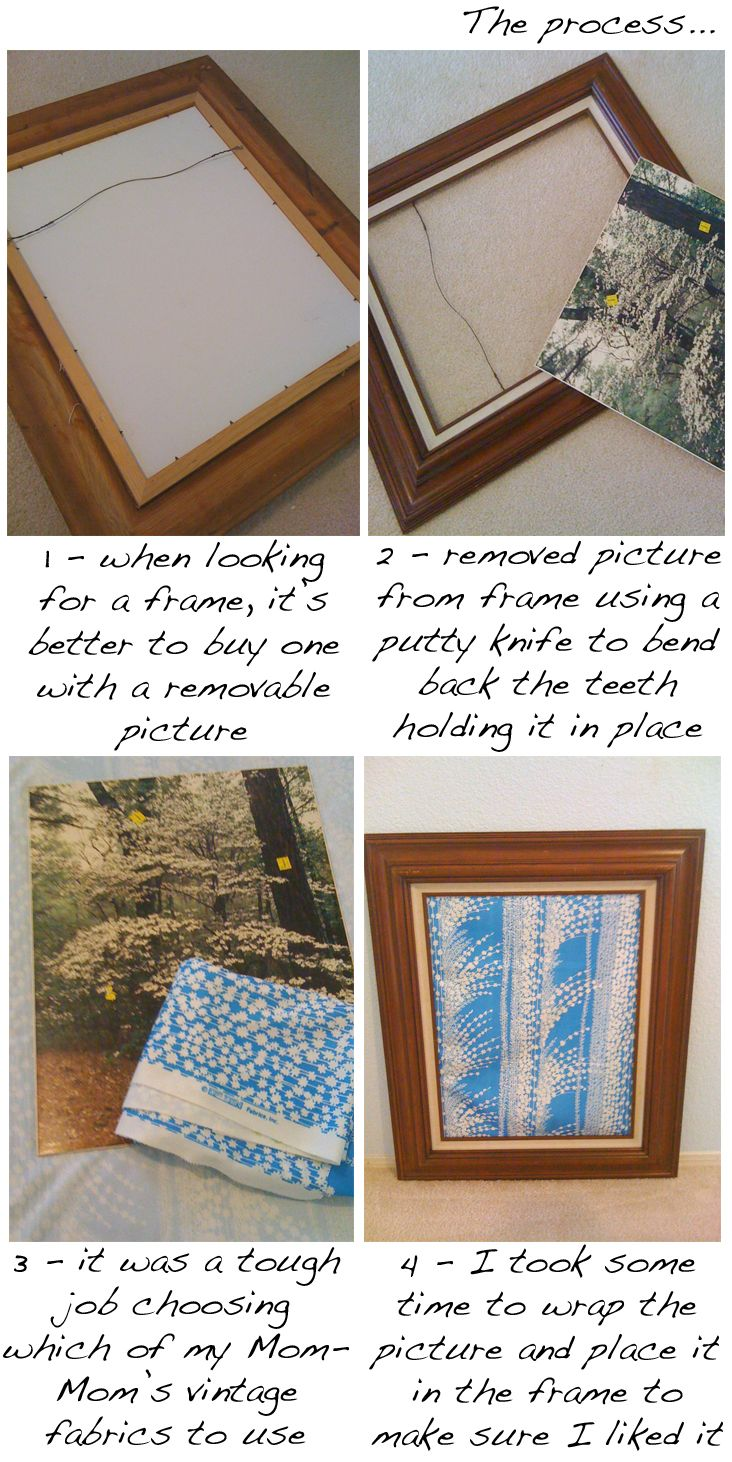 9 best images about diy wall art on pinterest felt for Diy fabric picture frame