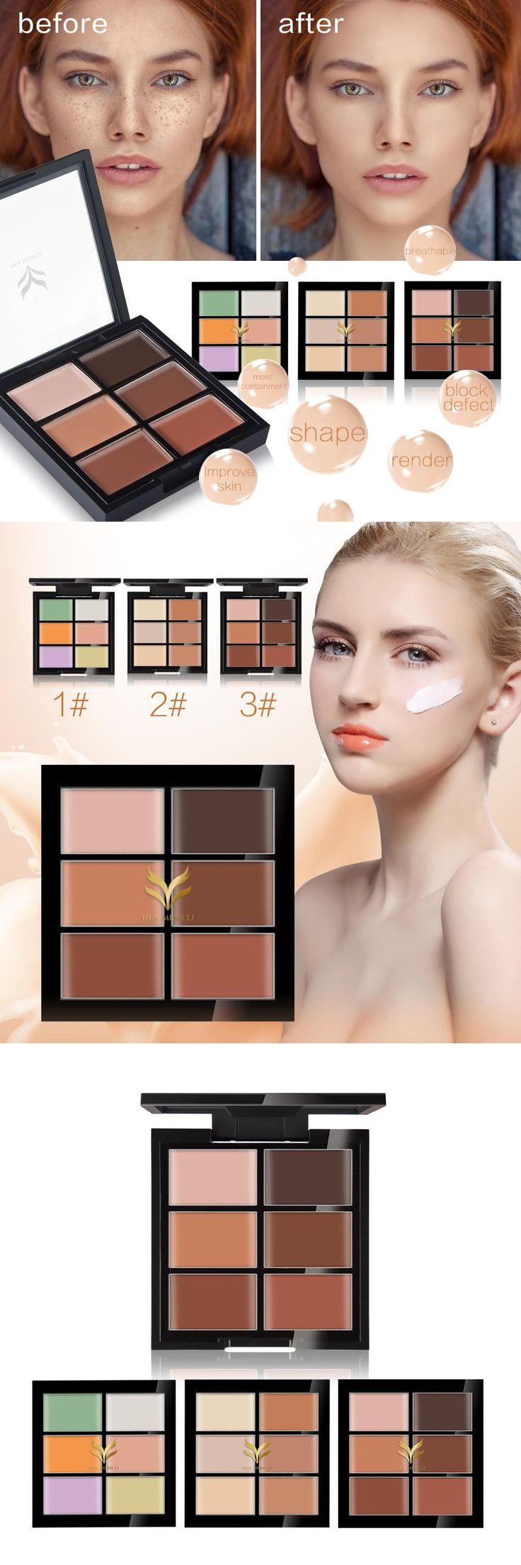 [Visit to Buy] Pro Base Make up Cover Primer Concealer Palette Professional Face Dermacol Makeup Foundation Contour Pores Tattoo Eraser HM07 #Advertisement