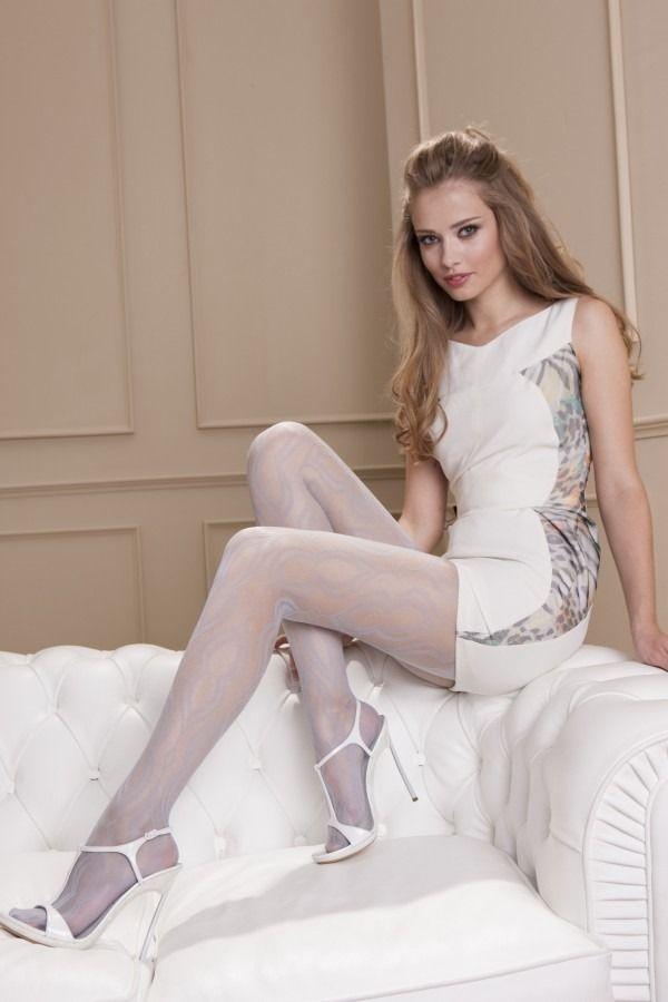 White pantyhose sexy