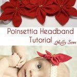 Flashback – Poinsettia Flower Tutorial for headbands