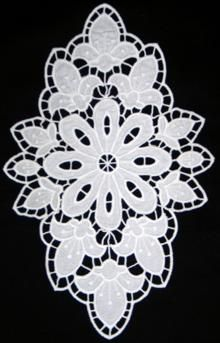 Advanced Embroidery Designs. Cutwork Lace >> Floral Embroidery Designs.