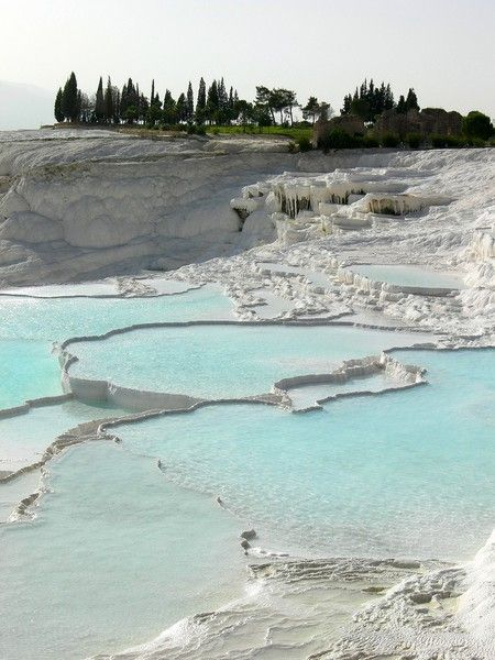 Pammukale Travertine, Turkey  For my brother, Nick!  I haven't forgotten.