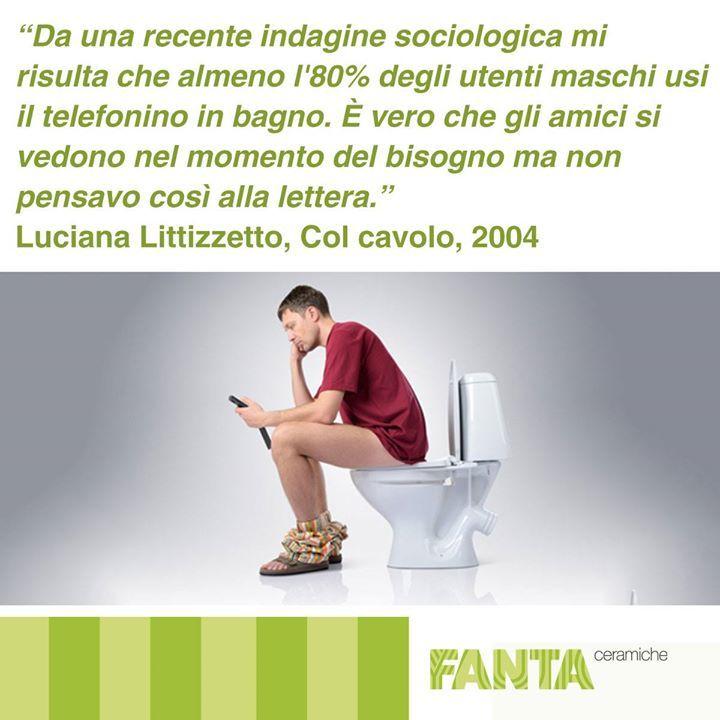 E voi lo usate lo #smartphone in bagno? ;)  http://ift.tt/2f9ou9g #arredobagno