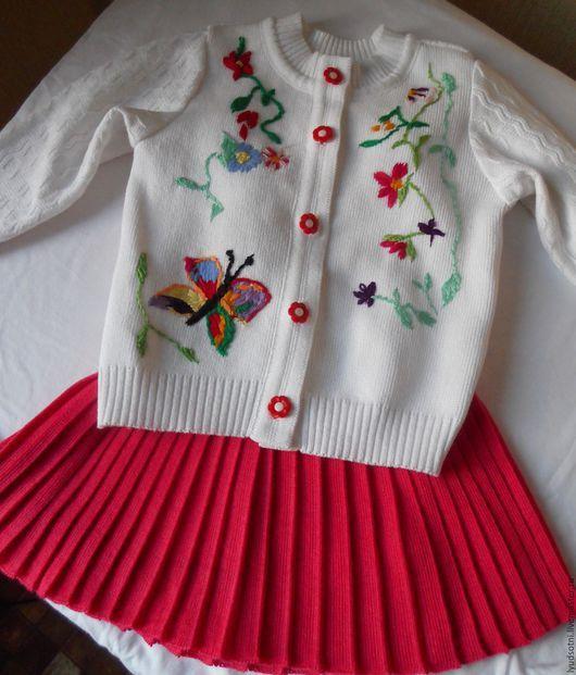 """Одежда для девочек, ручной работы. Ярмарка Мастеров - ручная работа. Купить """" лютики цветочки  для любимой дочки """". Handmade."""