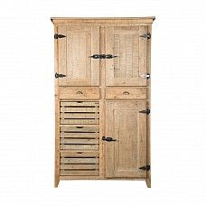 Kitchen storage unit with cupboards, drawers & vegetable crates - Trade Secret
