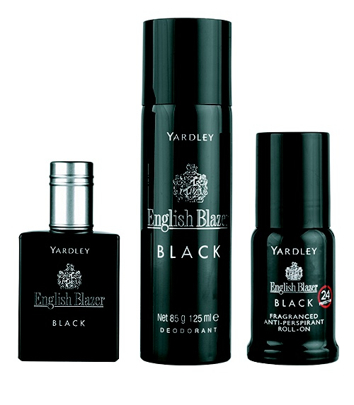 Yardley English Blazer Black 50ml eau de toilette gift set