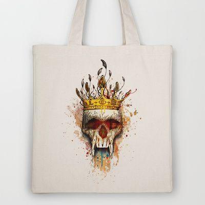 NO GLORY Tote Bag by Original Asker - $18.00