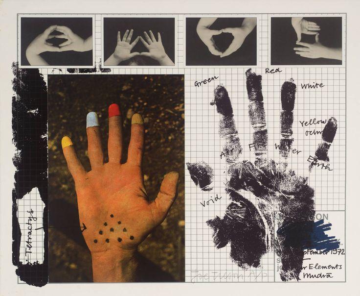 Joe Tilson 'Four Elements - Mudra', 1972 © Joe Tilson. All Rights Reserved, DACS 2014