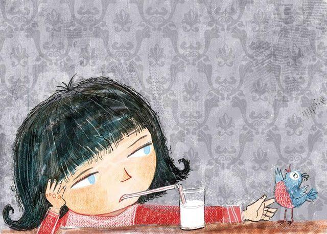 """juanbjuan children illustration: Sample from Book """" Send it back"""""""