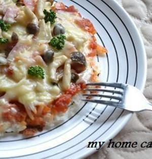 残りごはんに困ったら!腹もち抜群!「ライスピザ」はいかが? | レシピブログ - 料理ブログのレシピ満載!