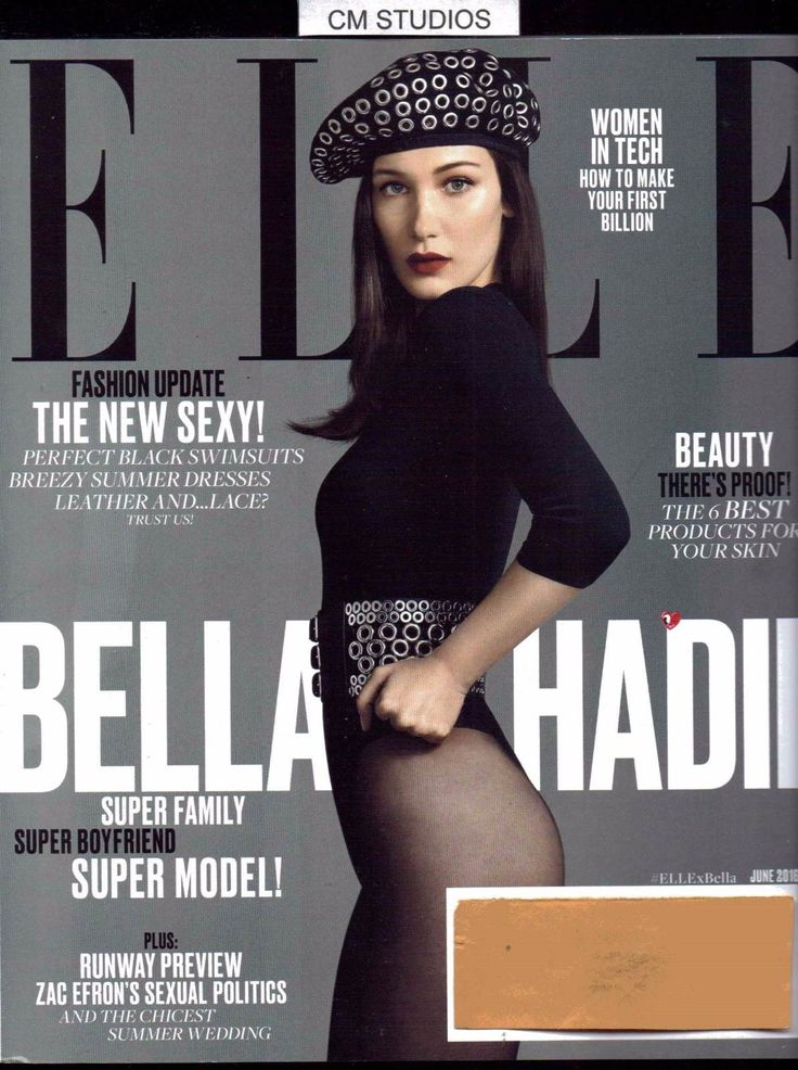 ELLE BELLA HADID  FASHION UPDATE THE NEW SEXY!  RUNWAY PREVIEW 06 JUNE 2016 16 | eBay