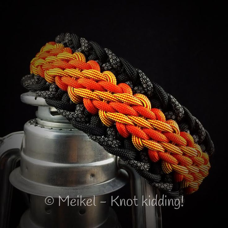 Candy Tiger   Swiss Paracord