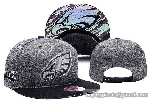 NFL Philadelphia Eagles 2016 Draft Charcoal Gray Snapback Hats|only US$8.90 - follow me to pick up couopons.